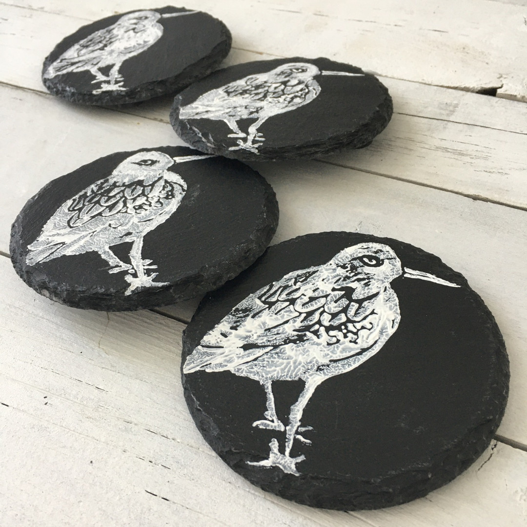 Turnstone Sea Bird Coasters