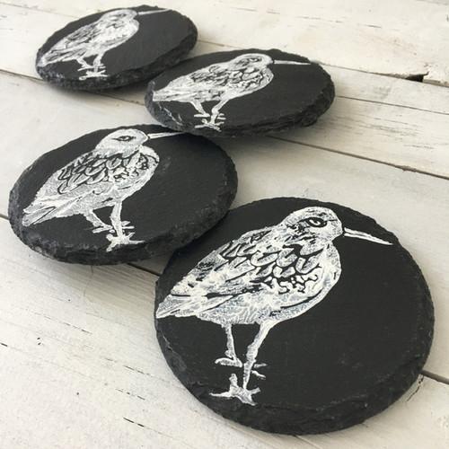 Turnstone Sea Bird Coasters