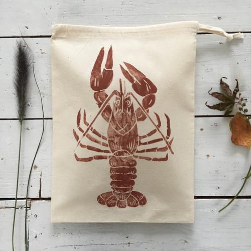 Lobster Drawstring Bags