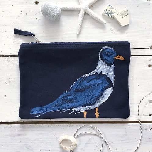 Navy Small Seagull Case