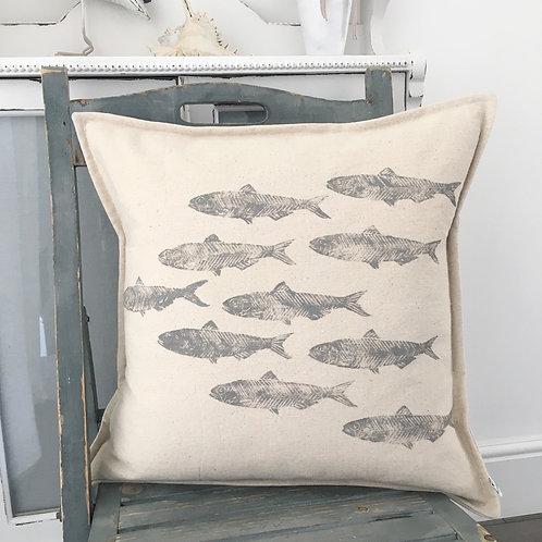 Cotton Twill Sardine Cushion