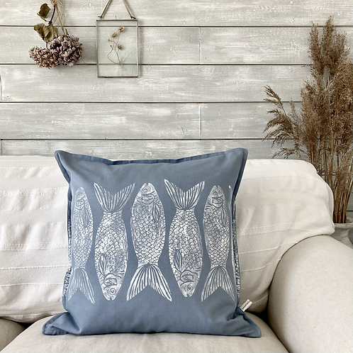 Cotton 'Shallow Waters' Cushion