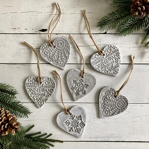 Decorative Festive Hearts