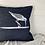 Thumbnail: Denim 'Sandpiper Print' Cushion