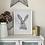 Thumbnail: Mrs Hare Framed Art Print - White