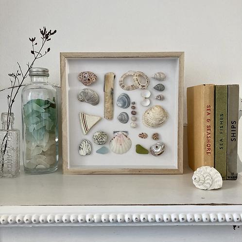 'Seaview Beach Treasures' Coastal Frame