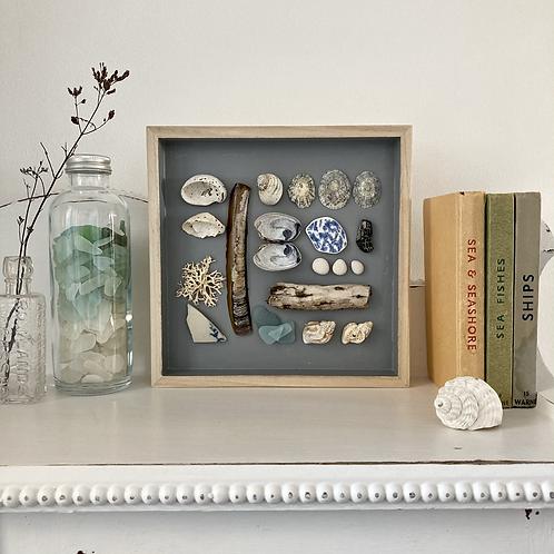 'Whitecliff Bay Treasures' Coastal Frame