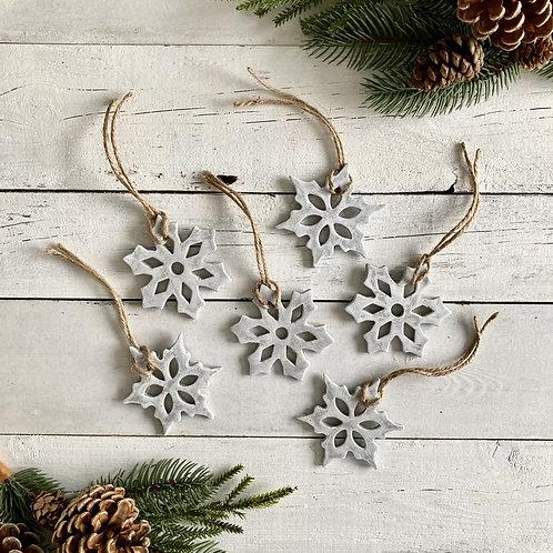 Decorative Festive Snowflakes