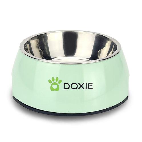 Doxie® Voerbak – Drinkbak – 350 ml – ⌀ 14 cm – Hoogglans Groen
