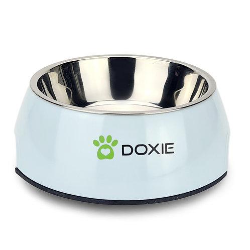 Doxie® Voerbak – Drinkbak – 350 ml – ⌀ 14 cm – Hoogglans Blauw