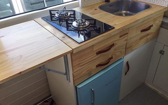 Cozinha | Montagem Motorhome