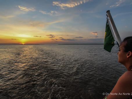 A viagem começou: Manaus a Belém de Balsa