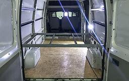 Montagem Motorhome | Piso e Estrutura da Cama