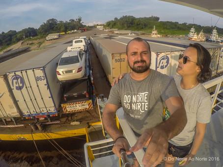 Como funciona e quanto custa a travessia de balsa de Manaus para Belém?