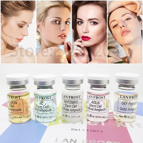 BB Cream Glow Ampoule Serum Meso Whitening  Treatment Cream Kit 8ml