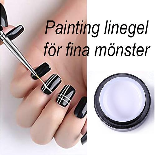 Painting line gel