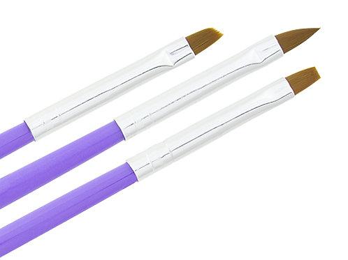 Gel pensel 3 pack