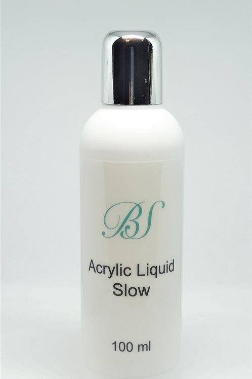 Acryl vätska för akrylpulver, Slow