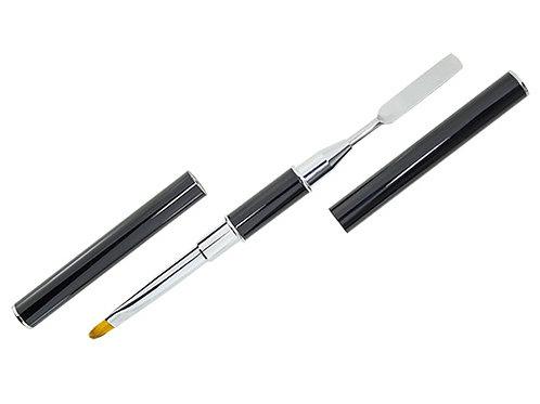 Acryl gel pensel, dubbel