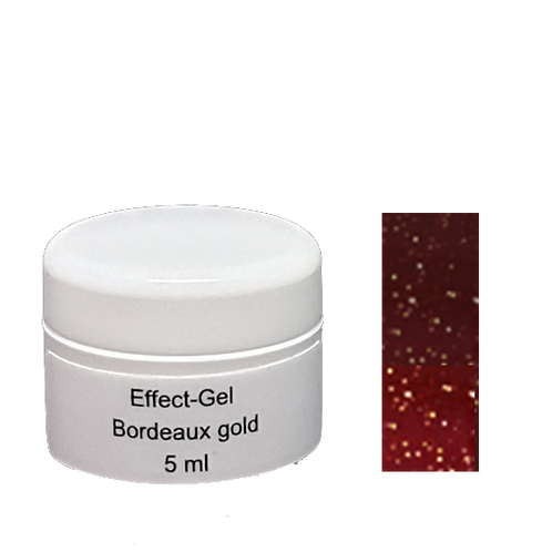 Glimmer gel 5 gr Bordeaux gold