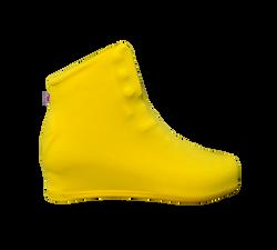 Cobre Botas Amarelo