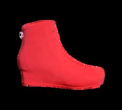 Cobre Botas Vermelho