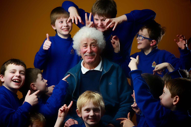The Juniors love John!