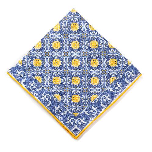 Azulejos - Marigold/Blue