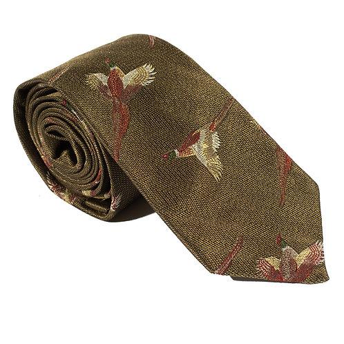 Turnberry Woven Silk Neck Tie - Sage