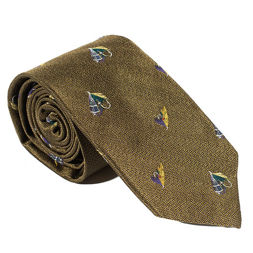 Inverness Woven Silk Neck Tie - Sage