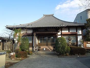 法閑寺本堂