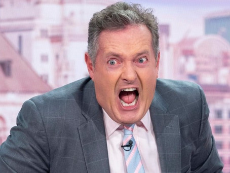 Piers morgan annoys me! But he does do some good.