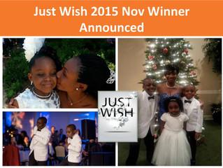 November 2015 Winner: Evelyn Adu-Gyamfi