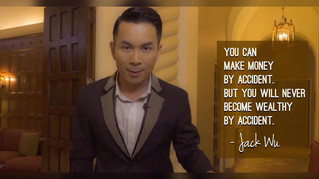 """[QOTD] """"Luck can only get you so far"""" -- JW"""