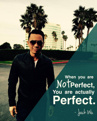"""[QOTD] """"Trying to be perfect kills a lot of talented people"""" -- JW"""