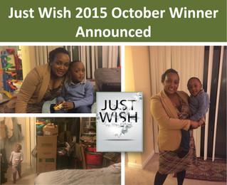 October 2015 Winner: Gloria Sakwa