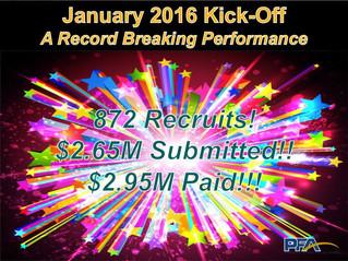 [PFA] Kicking Off 2016 with FIREWORKS!