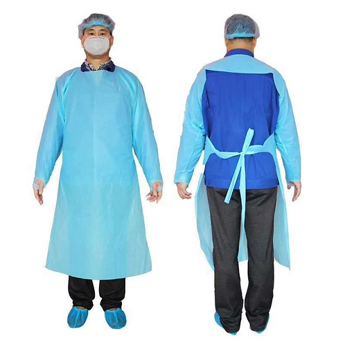 CPE Disposable Isolation Gowns