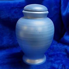 Urnature Gea Blue Biodegradable Urn