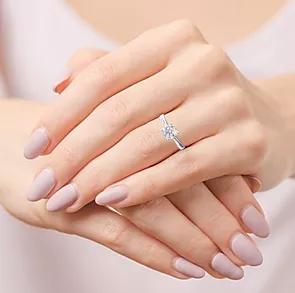 1.5 ct. 18K White Gold Ring