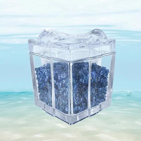 Full Body Sapphire Gemstones Jar