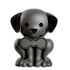 Black Puppy Pet Memory Urn