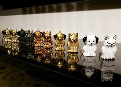 Pet Memory Keepsake Urns Variety of Colors