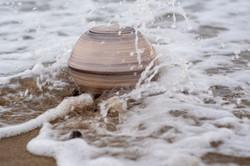 Urnature Nix Brown Biodegradable Urn