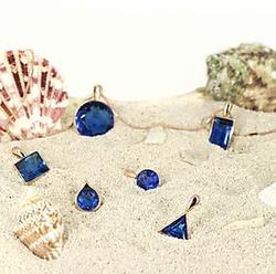 Ocean Saphire Diamond Cut