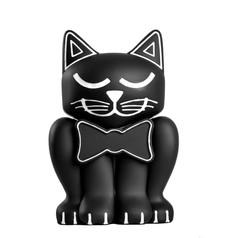 Black Kitten Pet Memory Urn