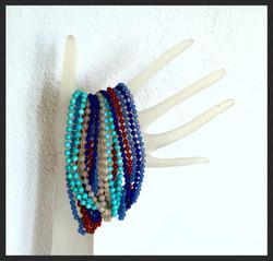 knotted strand bracelets