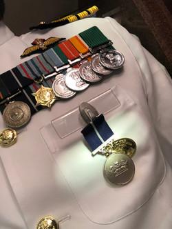 Nau Sena Medal - 2019