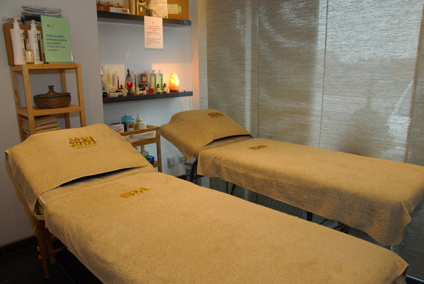 Exemple de salle massage et soins
