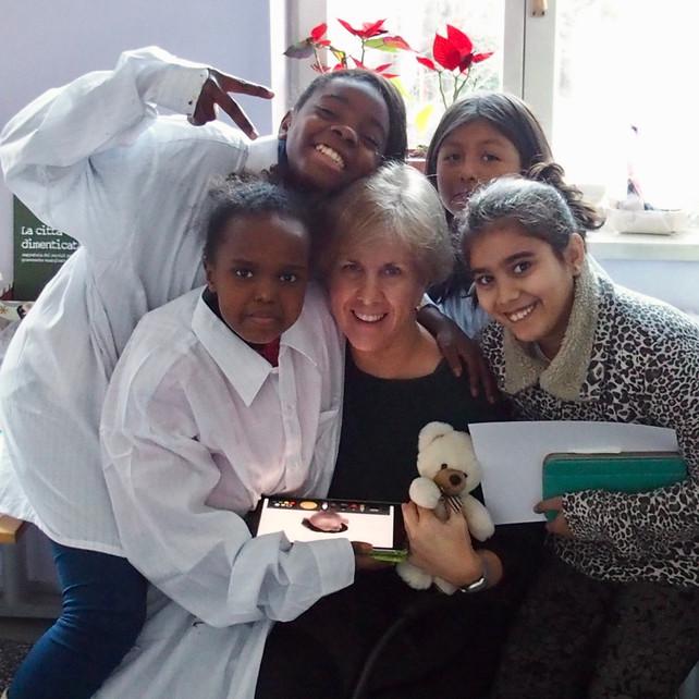 Working with Refugee Children in Milan